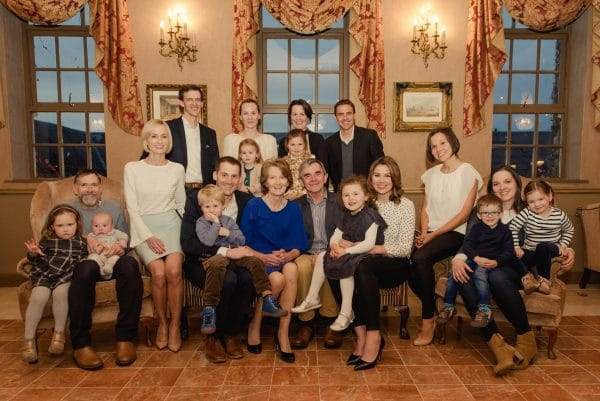 Extended family photograph