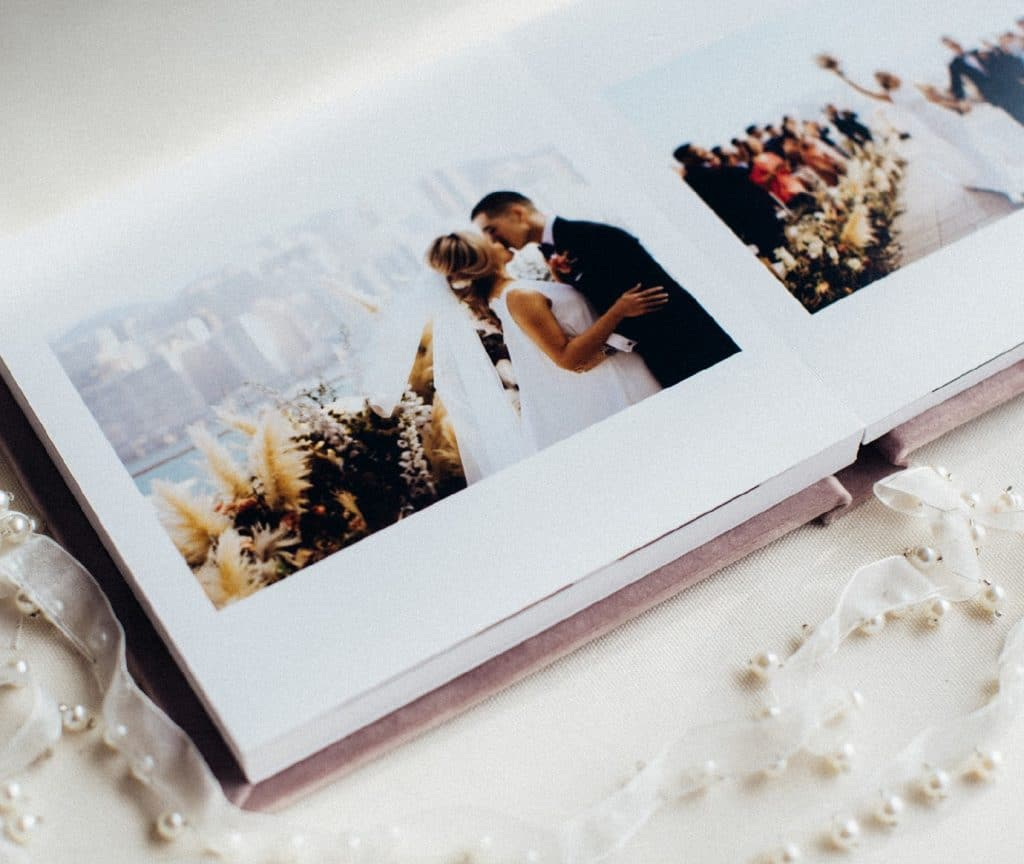 Art wedding album